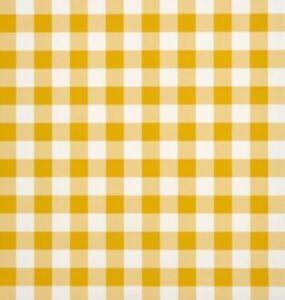 100 x Sheets YELLOW Gingham Duplex Paper Food Wrap Grease-proof Basket Liner