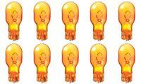 10x 921 Amber Bright Wedge Car Mini Dome Lamp Light bulbs Yellow 12v 921NA Lot
