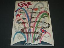 1937 MAY THE STAGE MAGAZINE - ALL OVER THE MAP NUMBER- NICE PHOTOS & ADS - ST 84