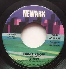 Northern Soul VERY RARE 45 The TNJ's Newark Lbl.