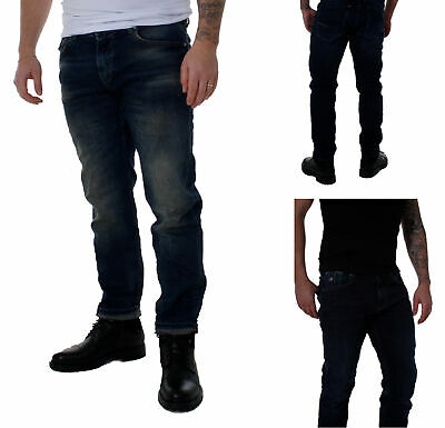 2019 Nuovo Stile M.o.d Jeans Uomo Pantaloni Ricardo Regular Fit Blu Abbaretz Blue/blue Verona- Ultima Tecnologia