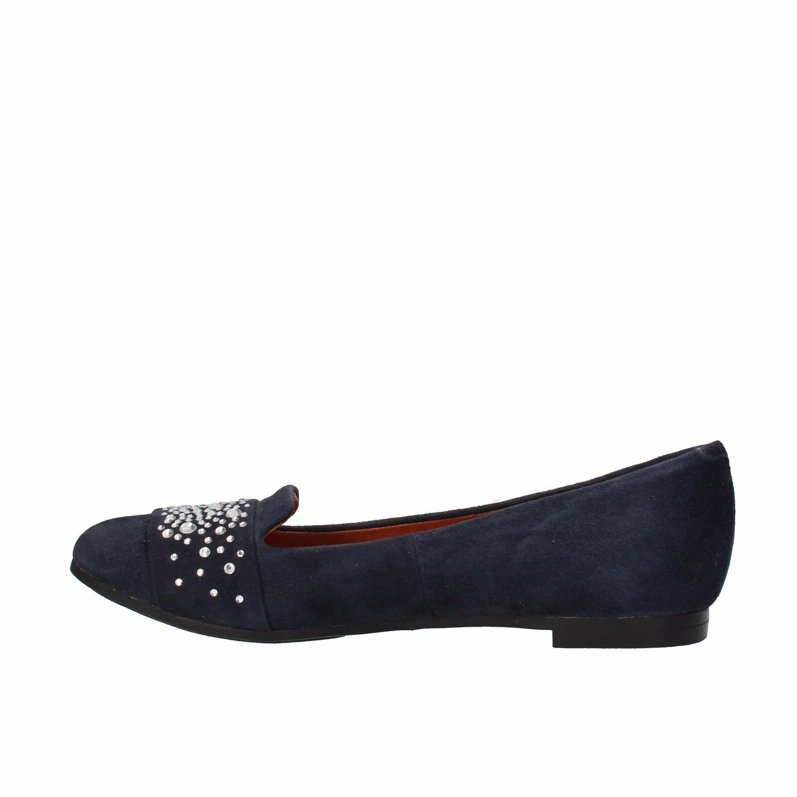 scarpe donna CARMENS 35 camoscio EU mocassini blu camoscio 35 AF38-B 33c417