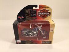 2006 Maisto Harley Davidson 1999 FXSTS Springer Softail 1:18 Die-Cast Purple