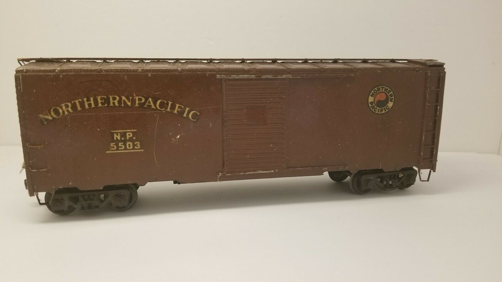 O scale 2 rail Northern  Pacific Car