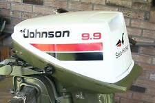 Johnson Outboard 9.9/15 hp decals