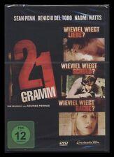 DVD 21 GRAMM - SEAN PENN + BENICIO DEL TORO + NAOMI WATTS + CHARLOTTE GAINSBOURG
