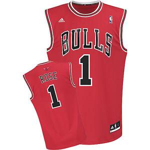 competitive price 14c5d 68ea8 Details about NBA Derrick Rose Chicago Bulls Basketball Shirt Jersey Vest