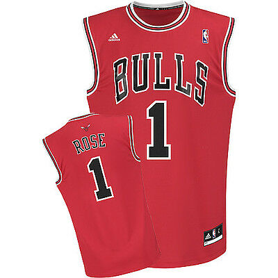 new arrival 94341 31fa9 NBA Derrick Rose Chicago Bulls Basketball Shirt Jersey Vest | eBay