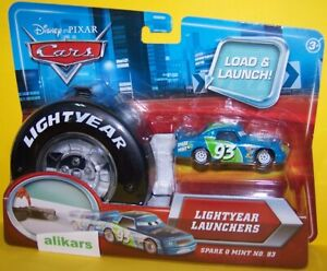 Lightyear Launchers - SPARE O MINT - Piston Cup Racer #93 Disney Cars Mattel Toy