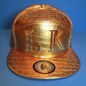 New-Gold-LK-Last-Kings-Heavyweight-6-Panel-Strapback-Baseball-Hat-Cap-Snapback