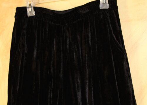 Sz stropicciati Nwt Threads di nero M Pantaloni velluto stropicciati Lagenlook Sacred Yqg7wg6ZxE