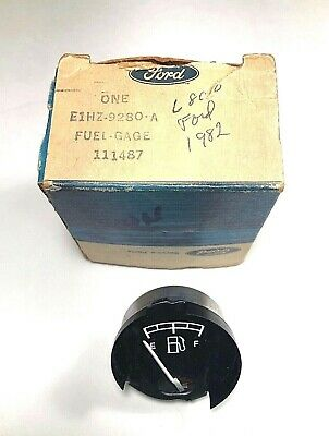 New OEM Ford Medium Heavy Truck Fuel Gauge Instrument Panel 1980-1986 F600 F800