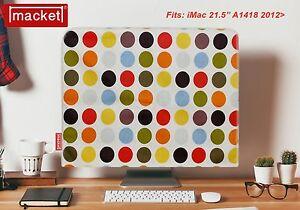 "Screen Cover Dust Jacket-APPLE iMac Desktop 21.5"" - MACKET - 9 Spot-UK Made"