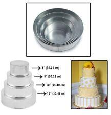 Details about  /4 Tier Heart Multilayer Birthday Wedding Anniversary Cake Tins