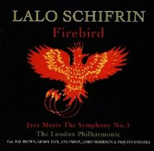 Lalo Schifrin Firebird-Jazz Meets The Symphony No.3 CD NEW London Philharmonic