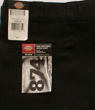 DICKIES Men/'s Black Regular Fit Multi-Use w// Cell Pocket Work Pants 8083BK NWT