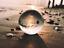Indexbild 19 - 50/80/100mm K9 Clear Crystal Ball Photography Glass Lens Sphere Ball