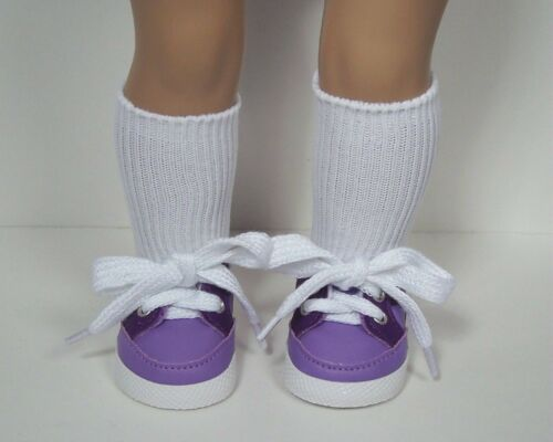"LAVENDER Sporty-Sport Tennis Doll Shoes For 18/"" American Girl Debs"