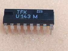 1 pc. U143M  TFK  7-Segment Decoder/Driver 1-16  DIP16  NOS