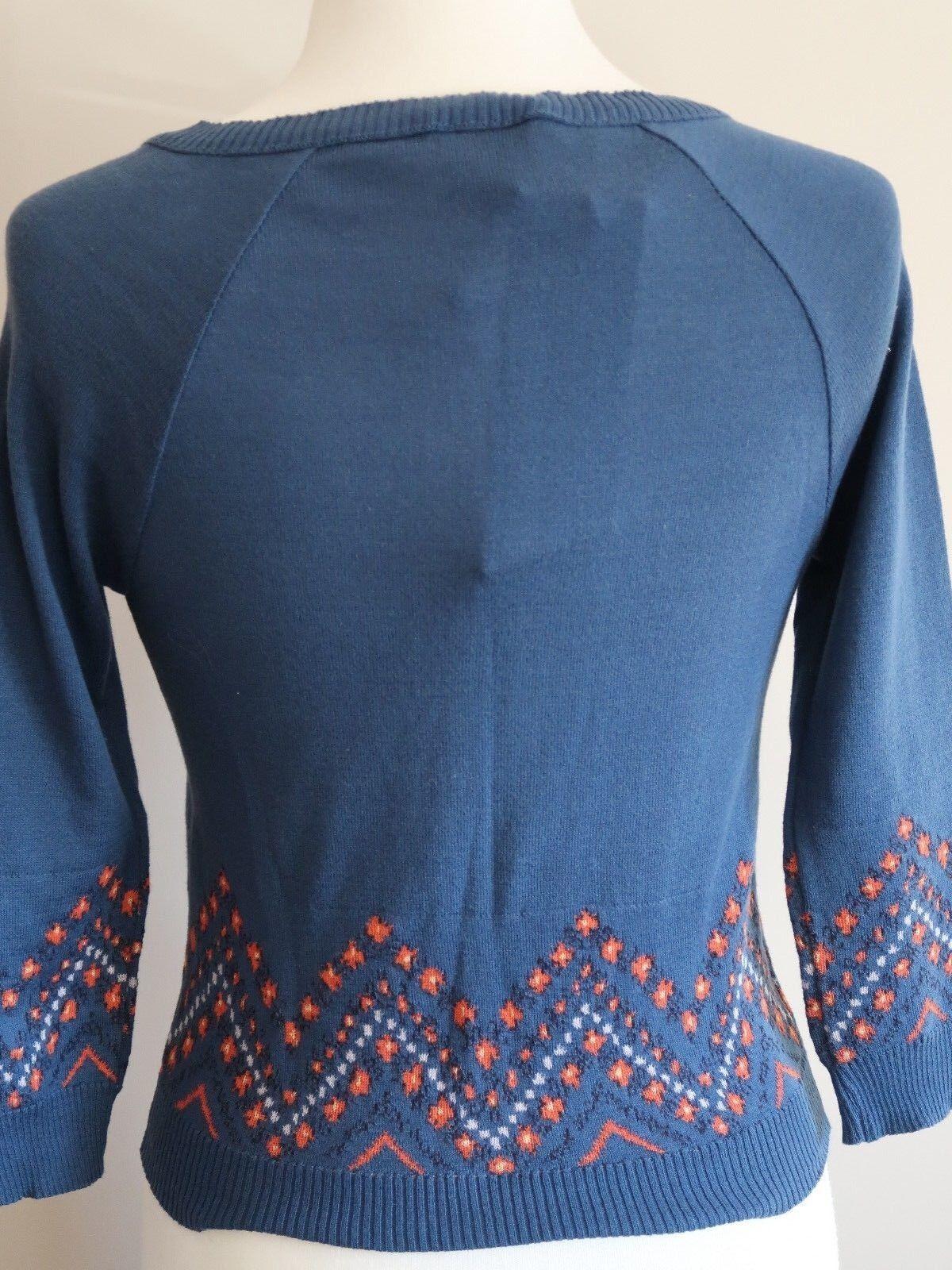 KATE MOSS TOPSHOP Liberty Stampa Cardigan US 6 EUR EUR EUR 38 NUOVO con etichetta ULTRA RARA 85cd6f