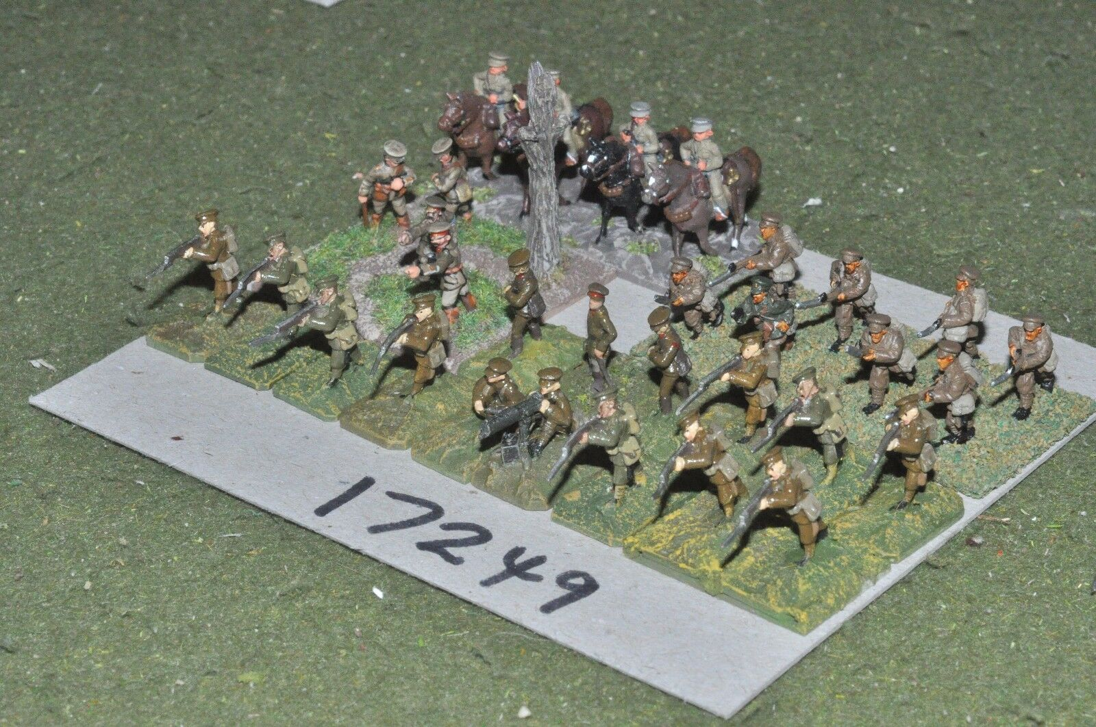 15mm WW1   british - infantry & command - command (17249)