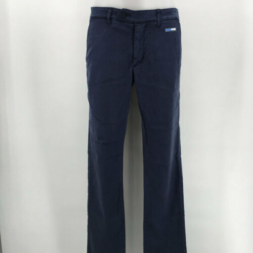 Escales Blue Men/'s Straight Pants Size 48