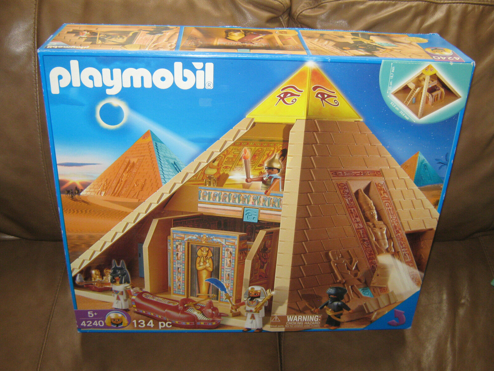 Playmobil 4240 Egyptian Pyramid Large Set Still sealed in the box