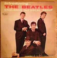 "INTRODUCING THE BEATLES - Vee-Jay VJLP1062, 12"" Mono LP w/ Bracket Logo-Ver 2"