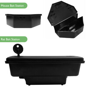 Mouse & Rat Bait Station Box | for use with Rodent Poisons