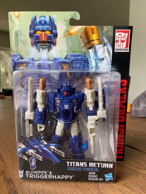 Transformers Titans Return Triggerhappy and Blowpipe