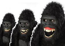 Adult Std. Going Ape Ani-motion Mask - Scary Masks