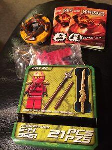 Lego 9561 ninjago kai zx with spinner red ninja retired ebay - Ninjago kai zx ...