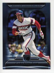 2011 Topps #T60-110 CARLTON FISK Chicago White Sox HOF RARE TOPPS 60 INSERT CARD