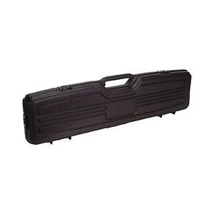single rifle hard case box sporting gun safe storage padded padlock foam new ebay. Black Bedroom Furniture Sets. Home Design Ideas
