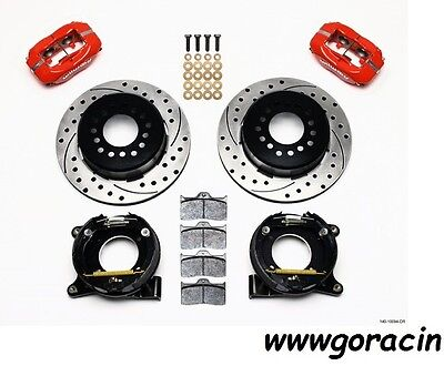 Chevrolet C10 Wilwood Rear Dynalite Brake Kit,,GMC C1500,C10 TRUCK,Display Red