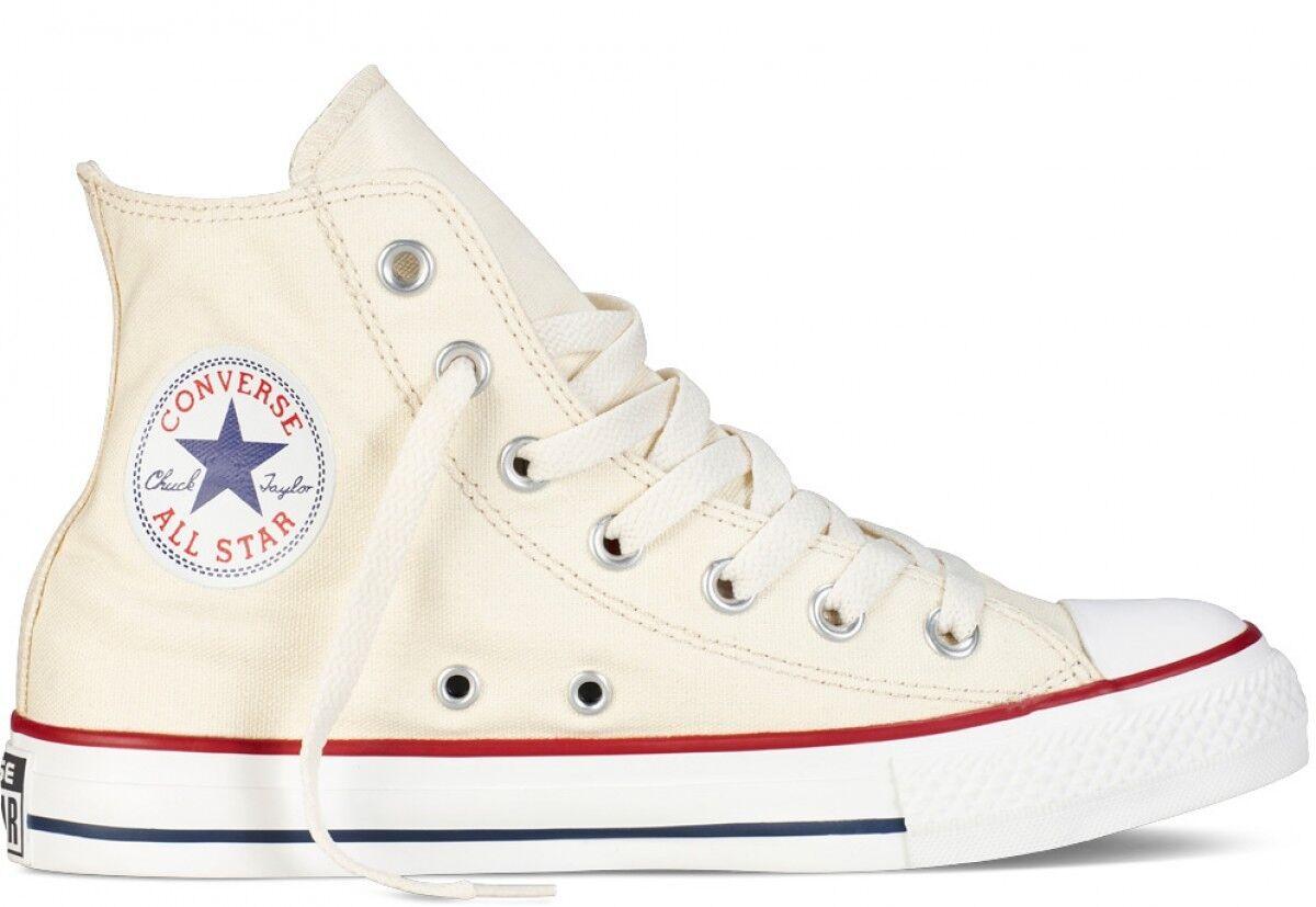 Converse All Star HI M9162 Natural White Chuck Taylor Men SZ 4 - 13