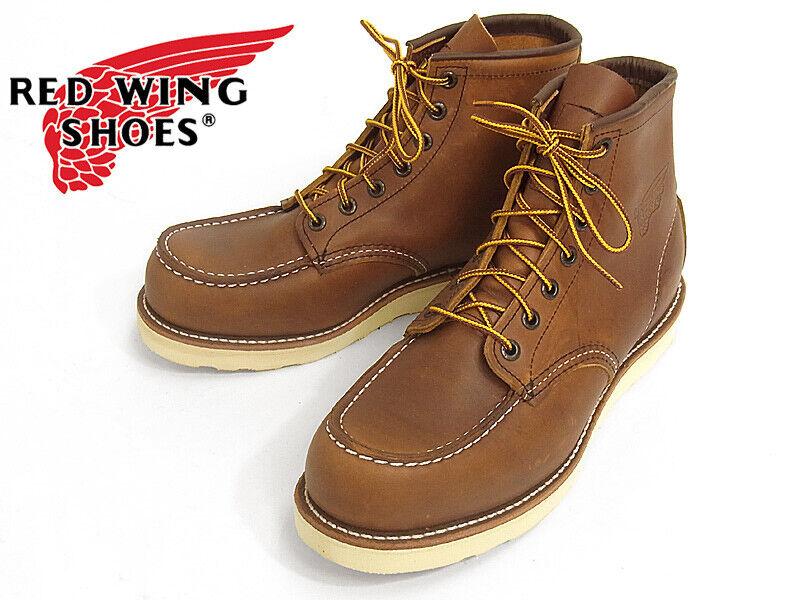 forniamo il meglio Red Wing Heritage 875 Uomo Classic 6 6 6  avvio(oro-iginal Leather, w  STAMP LOGO)  negozio online outlet