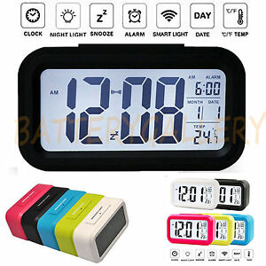 Digital-Snooze-LED-Alarm-Clock-Backlight-Time-Calendar-Thermometer-Temperature