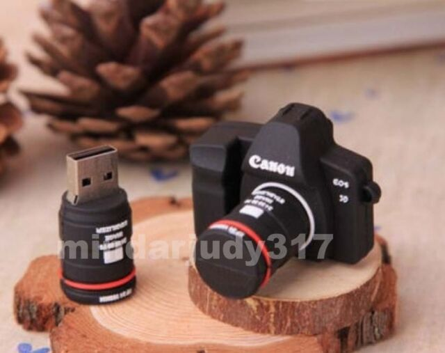 Genuine 4-32GB Cartoon SLR camera model USB 2.0 Flash Memory Stick Pen Drive Z1