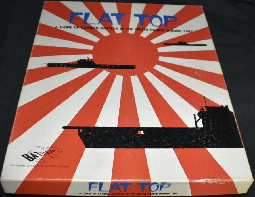 Flat Top Game of Carrier Battles In The Pacific1942  Board Game