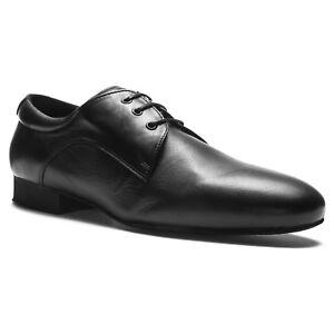 Details zu Herren Tanzschuhe Rumpf 2155 Latein Salsa Tango Standard Swing Leder schwarz