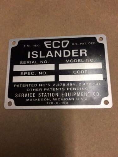 Tag Aluminum Eco air meter I.D
