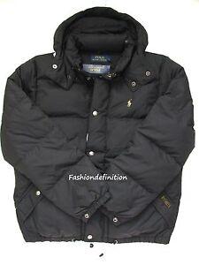 POLO about LAUREN Men Quilted Jacket ELMWOOD Down Coat325 Black Winter NWT New RALPH Details jMzpSVGLUq