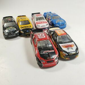 Lot-Of-6-2000s-NASCAR-Diecast-1-64-Winner-s-Circle-Team-Caliber-Loose
