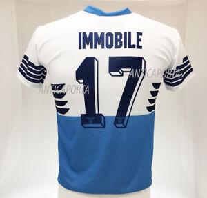 Details about Shirt Immobile Lazio 2019 Number 17 Prodotto Ufficiale SS Lazio Home Eagle