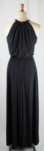 Black Grecian Studio 54 MAXI Dress Long Gown Resort  Baylis /& Knight LBD