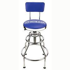 Kobalt Adjustable Hydraulic Stool Mechanic Seat Chair WorkShop Garage Bench  sc 1 st  eBay & Kobalt Adjustable Hydraulic Stool Blue Garage Backrest Seat Swivel ... islam-shia.org