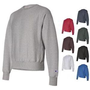 9d0ed33be22c Image is loading CHAMPION-Sports-12-oz-Reverse-Weave-Crewneck-Sweatshirt-