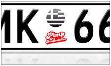 AU Ersatz Plakette Nummernschild Aufkleber Griechenland PAOK Athen Saloniki BMW