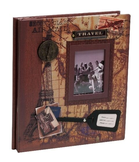 Large Travel or Holiday Photo Album Gift Peel Back 15 Pages - PAA353